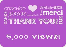 5000 views